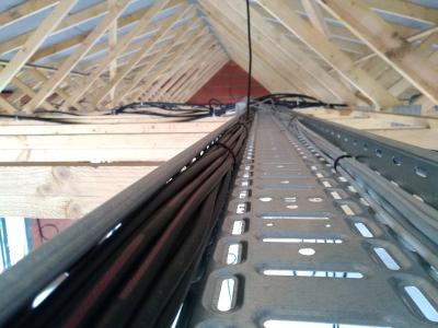 Pourquoi mettre en place un chemin de câbles dans une maison neuve ?