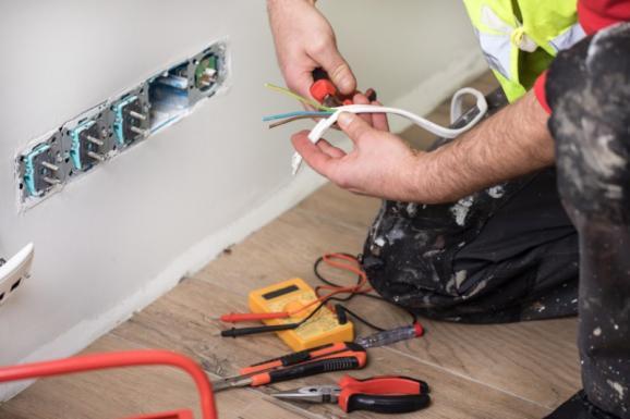 Installation prises électriques