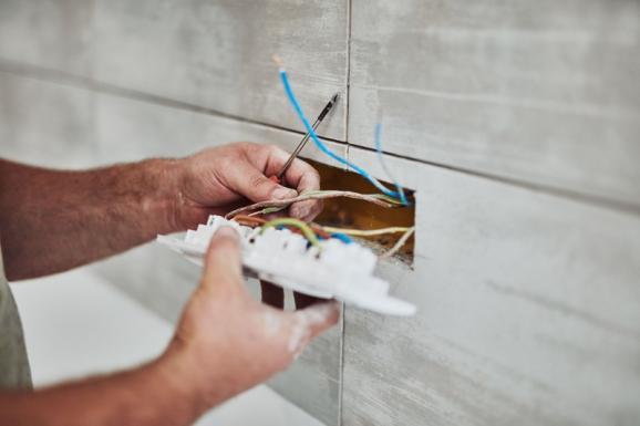 Installation prise électrique